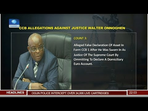 Suit Against CJN: 'No One Is Above The Law', Sagay, Ananaba React 12/01/19 Pt.1 |News@10|