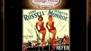 When Love Goes Wrong - Gentlemen Prefer Blondes (O.S.T - 1953) (VintageMusic.es)