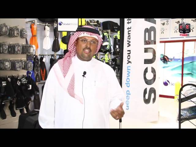 Adventure of Diving with Mr Ahmed AlKhalfan