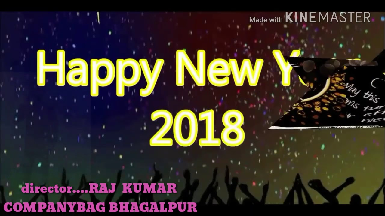 happy new year 2018 in advance new song