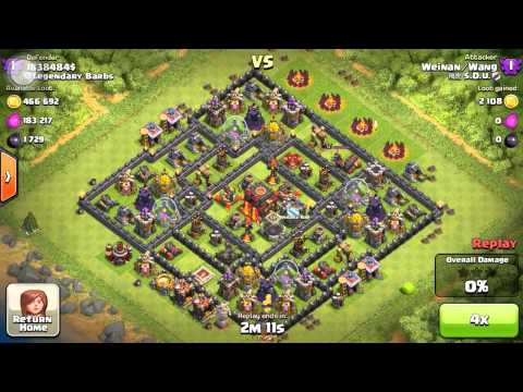 Clash of Clans - Exposing A Hacker / Cheater!! Very Weird Glitch