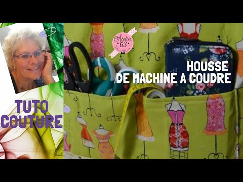 couture facile diy housse machine a coudre tutoriel loisirs creatifs youtube. Black Bedroom Furniture Sets. Home Design Ideas
