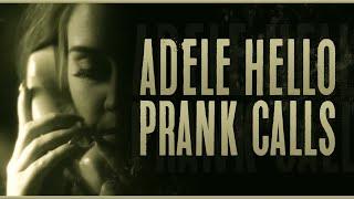 ADELE HELLO PRANK CALLS (QnA)