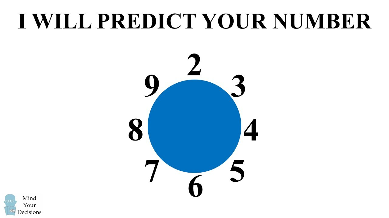 I WILL PREDICT YOUR NUMBER! Math Calculator Magic Trick