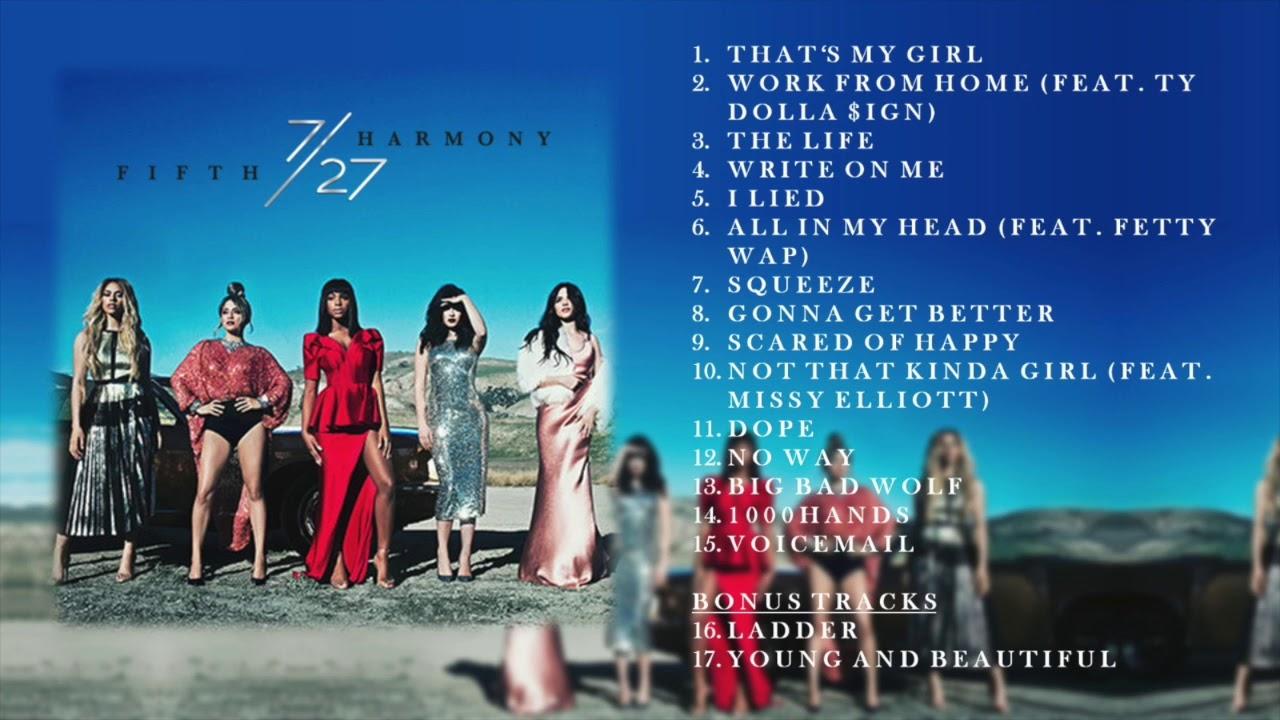 Fifth Harmony - 7/27 (Deluxe) FULL ALBUM + BONUS TRACKS