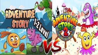 Adventures Story-Super Adventure World VS Adventures Story 2-Super Jungle Adventure|Android Gameplay