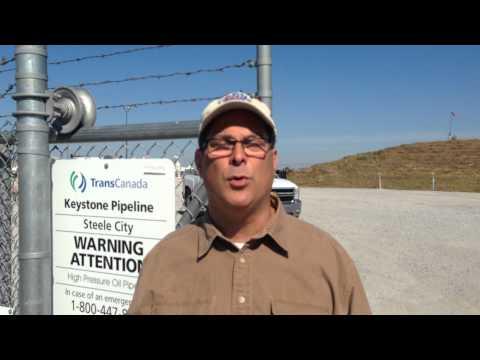KXL Pipeline Lost Opportunity Stop: Steele City, Nebraska (Matt Koch)