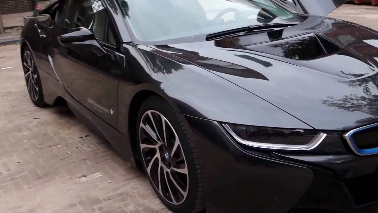 Bmw I8 Walk Around Sophisto Gray Youtube