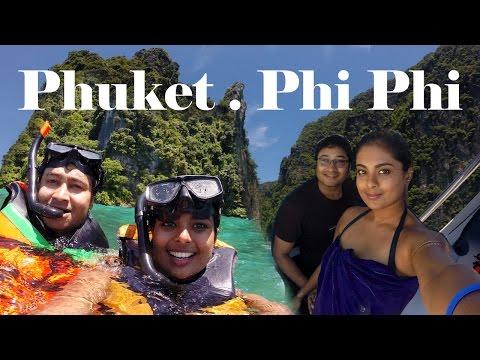 Phuket Vlog- Patong Beach, Bangla Night Life , Phi Phi Island hopping Day Trip, Snorkeling, Thailand