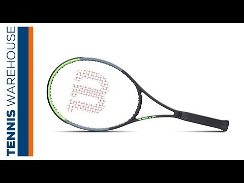 Wilson Blade 98 18x20 (v 7) Tennis Racquet Review - YouTube