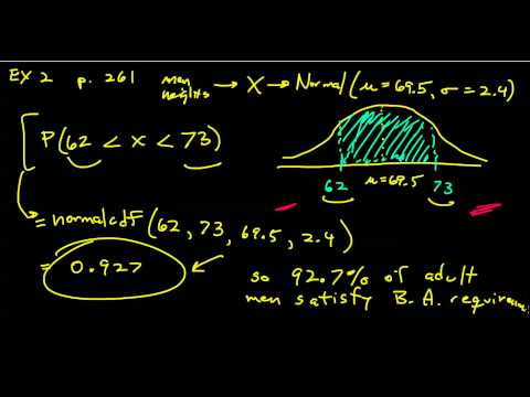 6.3 Applications of Normal Distributions