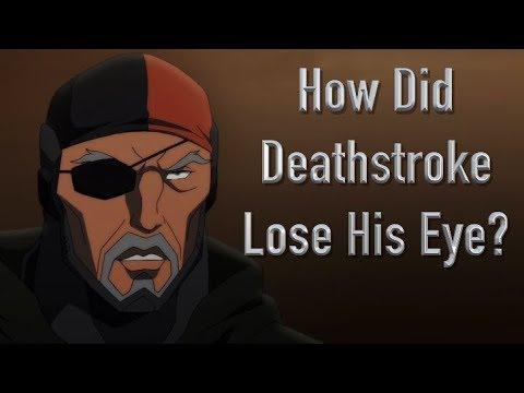 How Did Deathstroke Lose His Eye? (Son Of Batman)