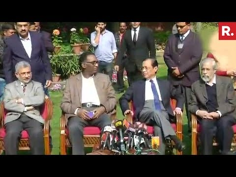 4 Supreme Court Judges Speaks Against The Chief Justice Of India