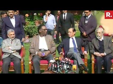 4 Supreme Court Judges Speak Against The Chief Justice Of India Mp3