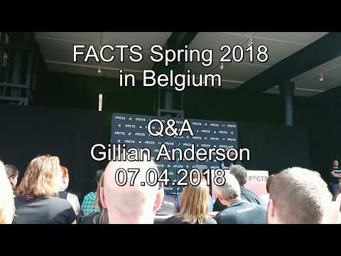 FACTS Spring 2018  Gillian Anderson PanelQ&A 07.04.2018