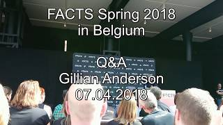 FACTS Spring 2018 - Gillian Anderson Panel/Q&A (07.04.2018)