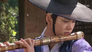 韓國古裝男同志電影《馨榮堂日記》:這是一個邊吹簫邊等待「好友」前來的節奏……