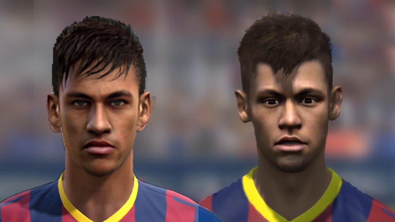 FIFA 14 V PES Faces Head To HD Part 1