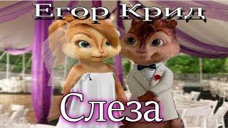 Элвин и Бурундуки перепели песню Слеза(Егор Крид)