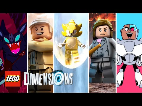LEGO Dimensions - SDCC: 2016 News Roundup (New Packs, Screenshots, Gameplay and Character Details)