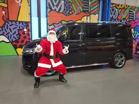 Santa comes to Leighton Vans - Super High Spec T6 Transporter LV Sportline Pack 4Motion