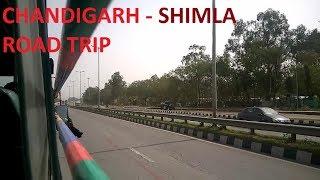 Chandigarh to Shimla Road Trip