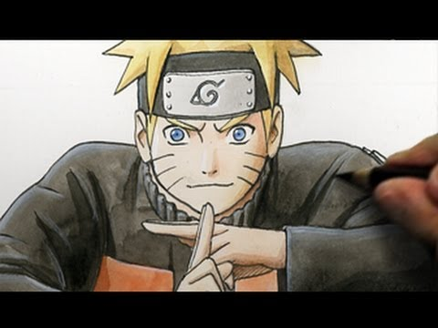How to Draw Naruto (Fan Art Tutorial) - YouTube