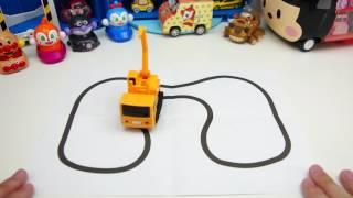 Inductive truck 神奇工程車-會跟著畫的線行駛的玩具車 sunny yummy的玩具箱 Sunny Yummy的寶貝玩具 Baby toys