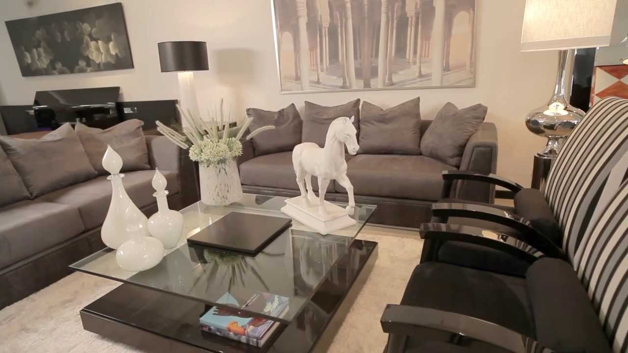 4 muebles de sala by fernando garc a youtube for Salas y comedores modernos 2016