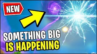 🔴 ROCKET GOING THROUGH THE PORTAL *RIGHT NOW* in FORTNITE (Floating Island Rune Event)