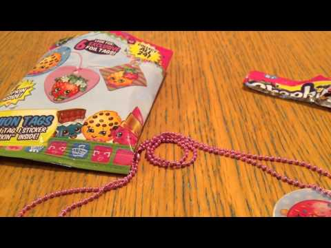 Shopkins Fashion Tag opening by CG Surprises