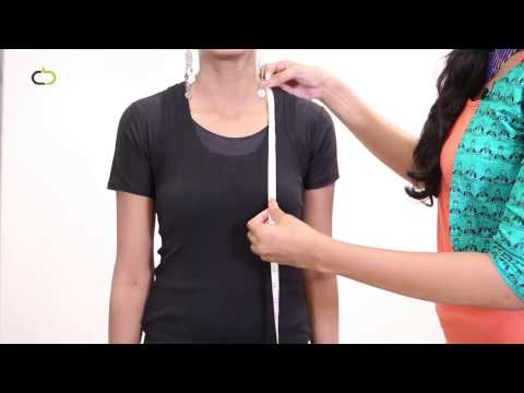 How to measure your Under bust Empire Line
