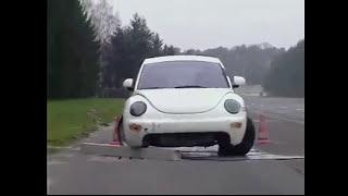 Интересный тест-драйв  Как Volkswagen проверяет свои автомобили!