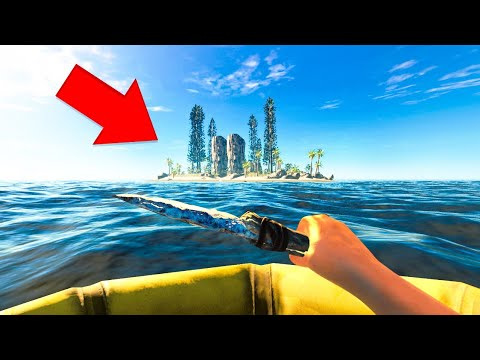 SURVIVING ON A STRANDED ISLAND! (Stranded Deep)