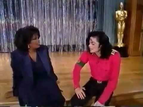 Michael dancing, beat boxing and singing for Oprah