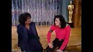 Michael dancing, beat boxing and singing for Oprah.