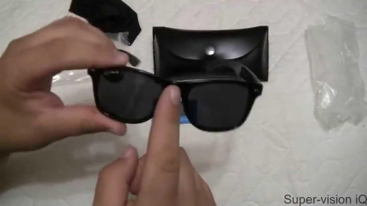 Как выбрать очки? Градиент, градиентные линзы Ray-Ban - YouTube