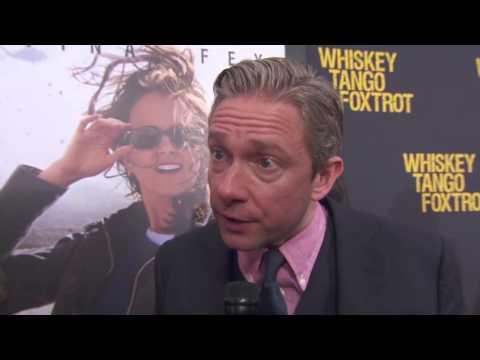 Whiskey Tango Foxtrot: Martin Freeman Red Carpet Movie Premiere Interview