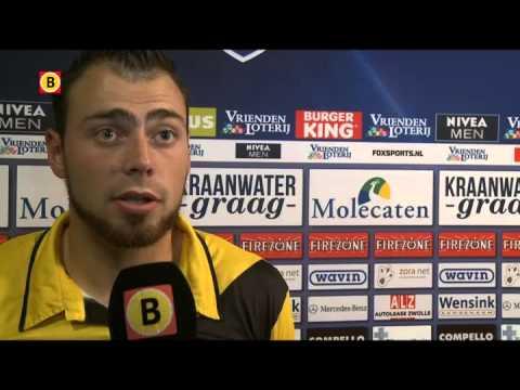Kenny van der Weg na PEC Zwolle-NAC Breda