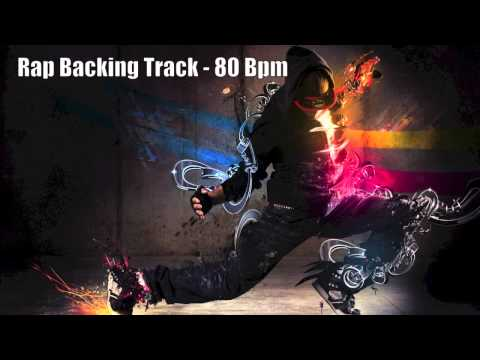 Freestyle Rap Backing Track  80 Bpm