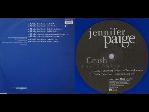 Jennifer Paige - Crush (Tiefschwarz Hollywood Extended Version) Vinyl