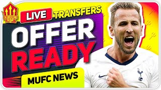 KANE MEGA CONTRACT OFFER READY! | Man United News Now