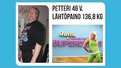 FitBlog - Mitä kuuluu Jutta ja puolen vuoden superdieetit -ohjelman Petterille?