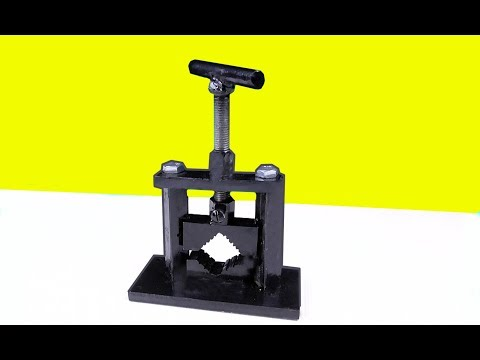 Make A Pipe Vise    DIY HomeMade Tool