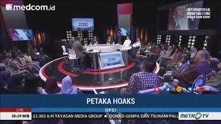 Nusron Wahid dan Budiman Sudjatmiko Bantai Jubir Timses Prabowo CS atas Kasus Hoaks Ratna Sarumpaet
