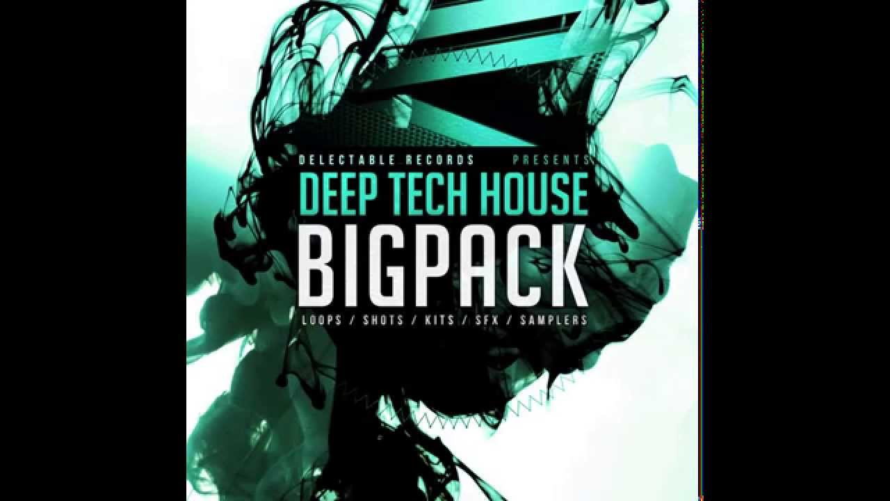 Delectable Records - Sample Pack - Deep Tech House Big Pack #1