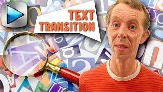 Элегантный ТЕКСТОВЫЙ ПЕРЕХОД в Sony Vegas Pro. Уроки видеомонтажа Сони Вегас. Text transition