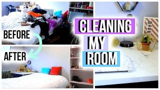 Cleaning My Room! | JensLife