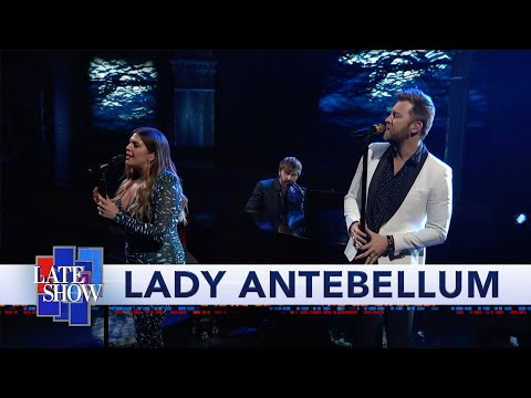 Dusty - Lady A on Colbert with Ocean