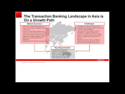Building a Regional Transaction Banking Platform - Cases and Approaches